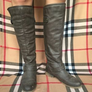 Grey/brown Madden Girl boots!
